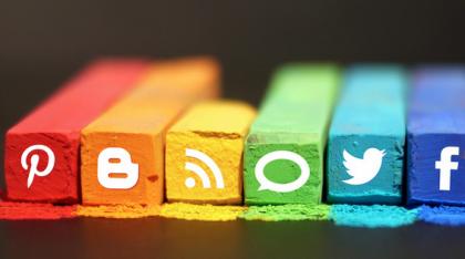 all social media crayons